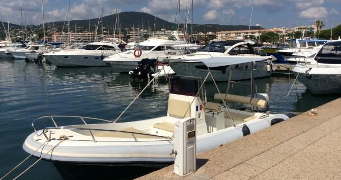 Alquiler de barcos Port Grimaud barato de Katoy 650