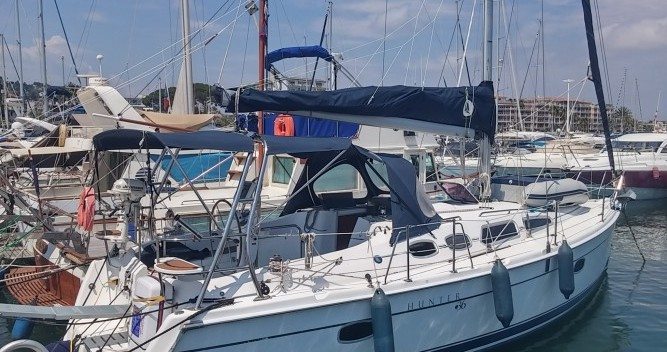 Hunter Hunter 36 entre particulares y profesional Port Camille Rayon