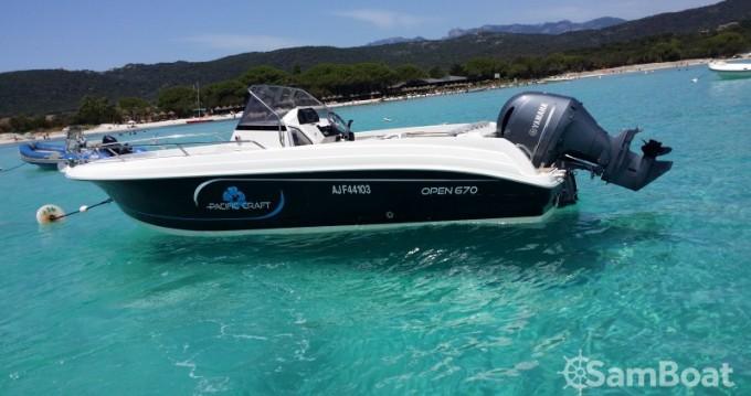 Alquiler de yate Golfe de Santa Giulia - Pacific Craft Open 670 en SamBoat