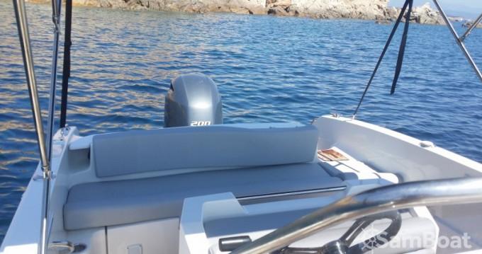 Alquiler Lancha en Golfe de Santa Giulia - Pacific Craft Open 670