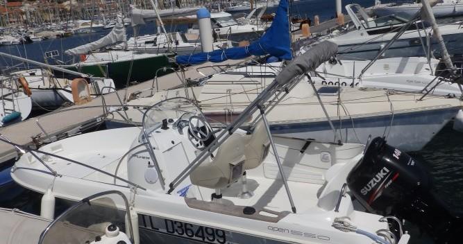 Alquiler de barcos Bandol barato de Flyer 550
