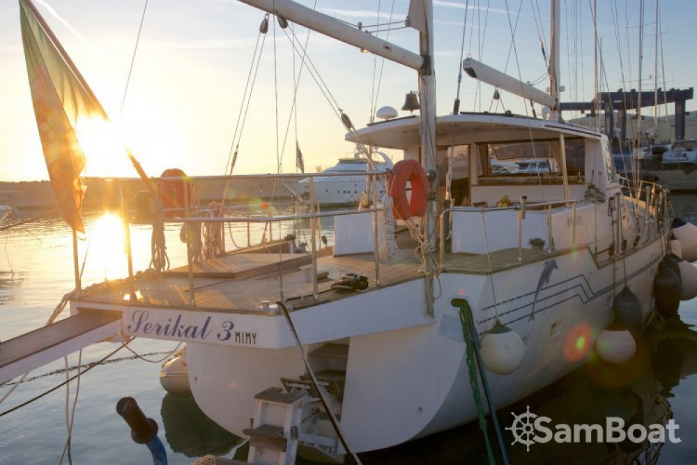 Alquiler de yate Sant Antoni de Calonge - Bordogna-Pacifico Bordogna Pacifico 77 en SamBoat