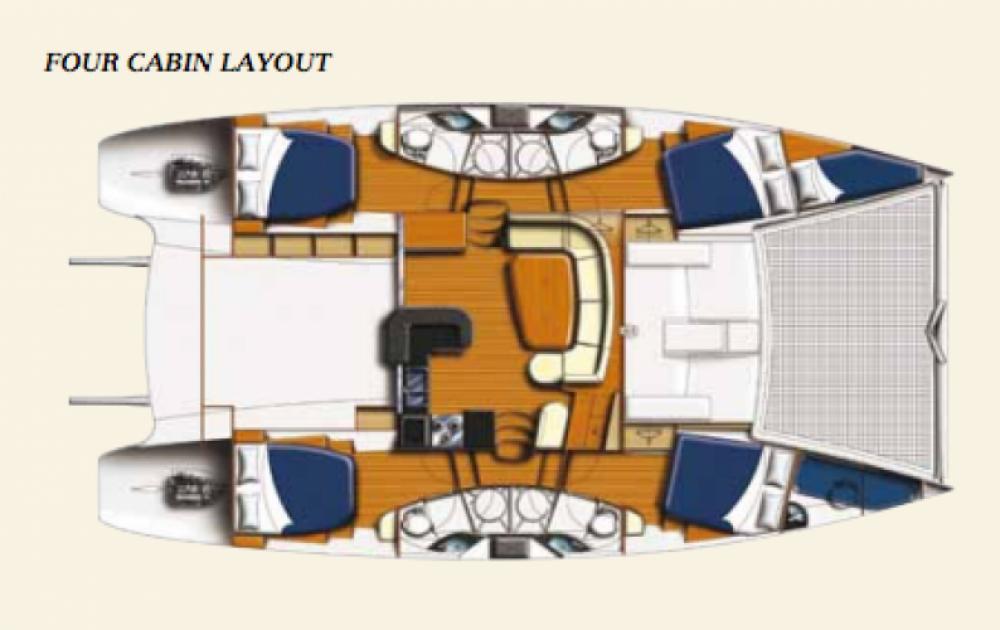 Alquiler de yate Dependencias Federales - Leopard Leopard 46 en SamBoat