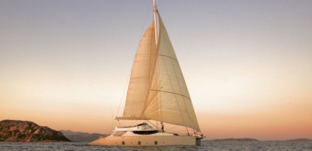 Alquiler Catamarán Olivier-Racoupeau con título de navegación