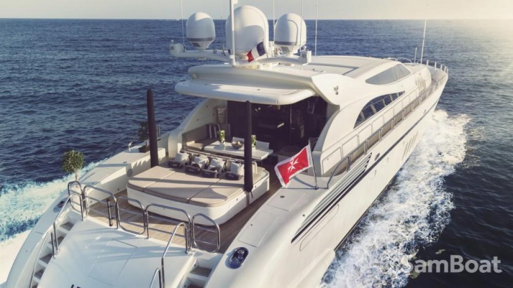 "Alquiler de barcos Andrea-Bacigalupo 34.11 metres (111' 11"") enCannes en Samboat"
