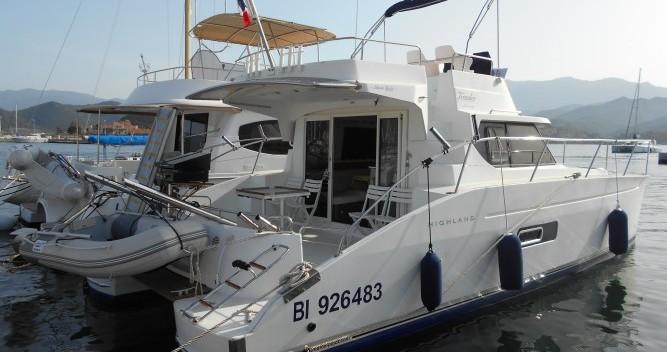 Alquiler de barcos Fountaine Pajot Highland 35 enSaint-Florent en Samboat