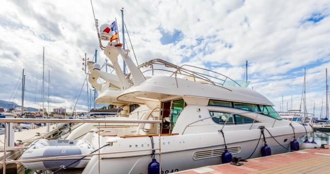 Alquiler de barcos Dénia barato de Prestige 46