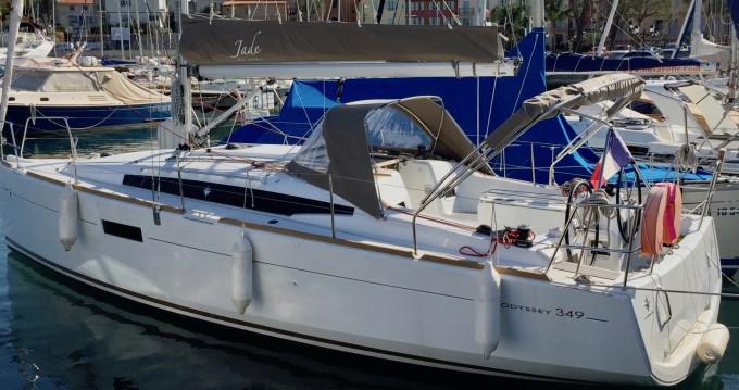 Alquiler de barcos Saint-Jean-Cap-Ferrat barato de Sun Odyssey 349