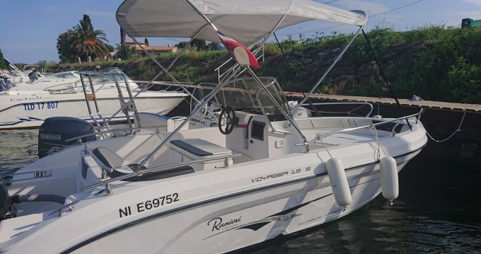 Alquiler de barcos Ranieri Voyager 19 S enGapeau en Samboat