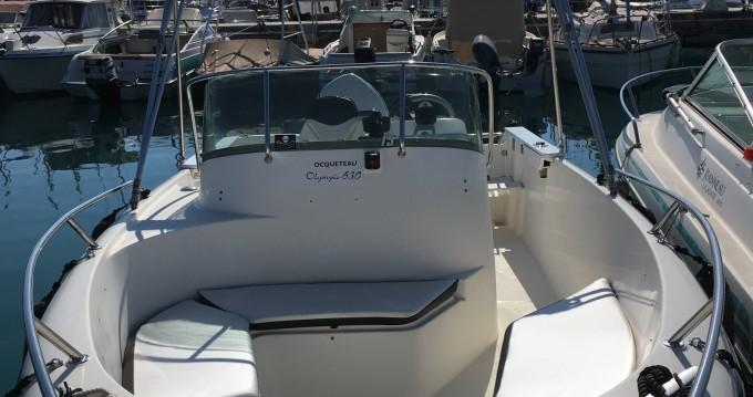 Alquiler de barcos Ocqueteau Olympio 630 enSaint-Laurent-du-Var en Samboat