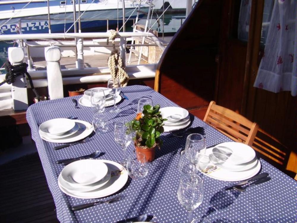 Alquiler de barcos Trapani barato de gulet