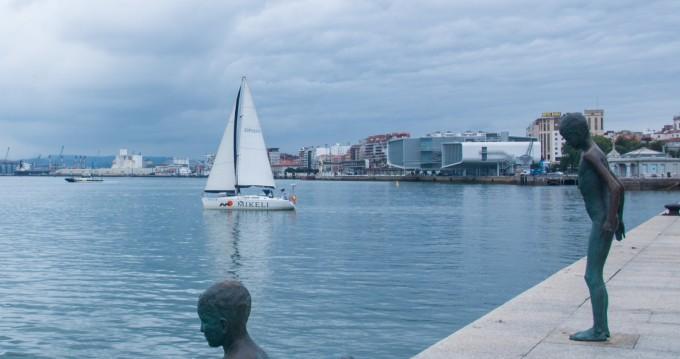 Alquiler de barcos Santander barato de Sun odyssey