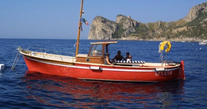 Alquiler de yate Marina del Cantone - Sorrentino Gozzo en SamBoat
