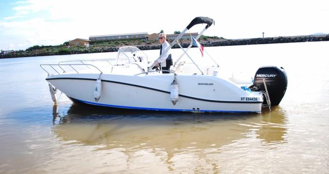 Alquiler de barcos Quicksilver Activ 675 Open enValras-Plage en Samboat