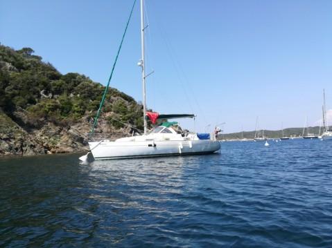 Alquiler de barcos Saint-Mandrier-sur-Mer barato de Oceanis 36 Clipper