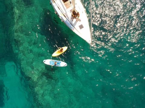 Alquiler Velero Velero&Buceo&Fun Islas Baleares Furia con título de navegación