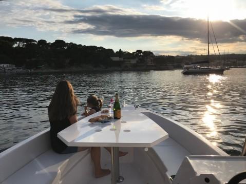 Sans Permis Lagoon 55 entre particulares y profesional Beaulieu-sur-Mer