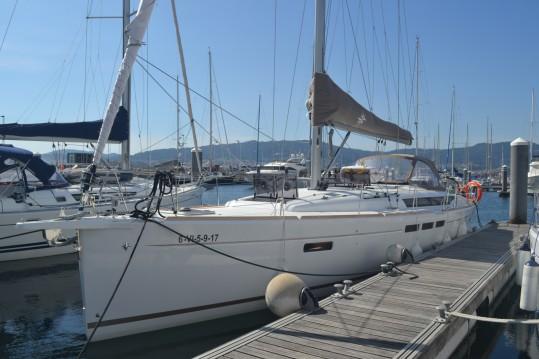 Jeanneau Sun Odyssey 519 entre particulares y profesional Vigo