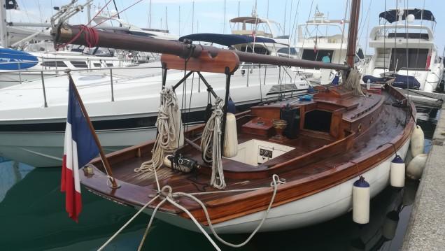 Alquiler de barcos John Alden Talma Bertrand Cotre bermudien enVilleneuve-Loubet en Samboat