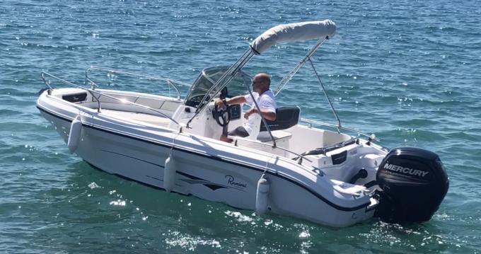 Alquiler de barcos Ranieri Voyager 18 S enSaint-Raphaël en Samboat