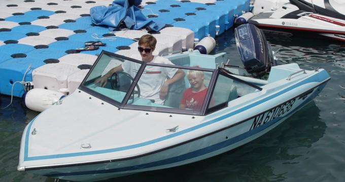 Alquiler de barcos Evinrude glastron enSaint-Laurent-du-Var en Samboat