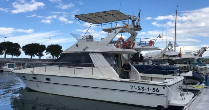 Alquiler de barcos Hendaye barato de vedette