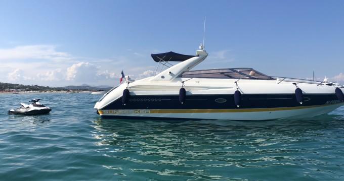 Alquiler de barcos Sunseeker Comanche 40 enCannes en Samboat