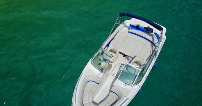 Alquiler Lancha Four Winns con título de navegación
