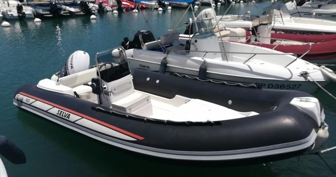 Alquiler de barcos Le Gosier barato de Selva D500