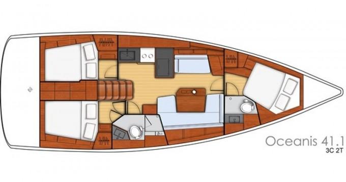 Alquiler de yate Rogač - Bénéteau Oceanis 41.1 en SamBoat