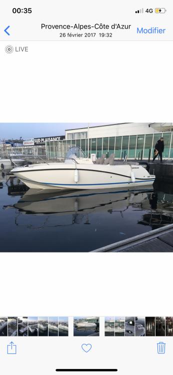 Quicksilver Activ 605 Sundeck entre particulares y profesional Marsella
