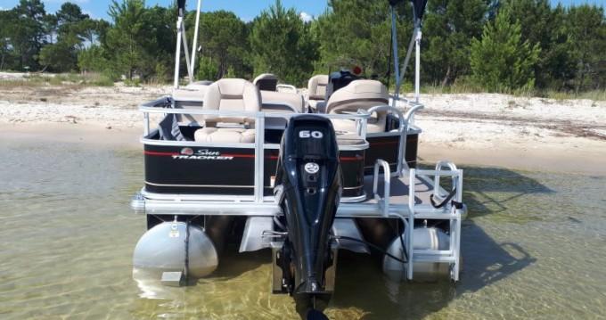 Alquiler Lancha en Sanguinet - Sun Tracker Bass Buggy 18