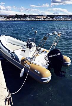 Alquiler de Neumática, con o sin patrón Italboats Zadar