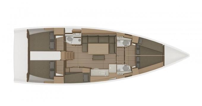 Alquiler de barcos Biograd na Moru barato de Dufour 460 Grand Large - 5 cabins