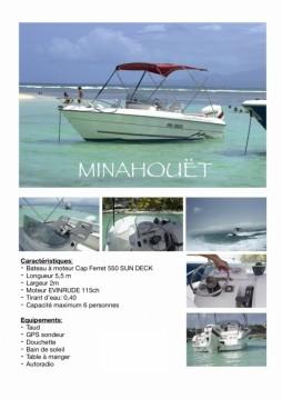 Alquiler de barcos Pointe-à-Pitre barato de Cap Ferret 550 Sun Deck