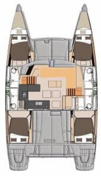 Fountaine Pajot Helia 44 entre particulares y profesional Newport