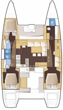 Alquiler de Catamarán, con o sin patrón Lagoon Newport