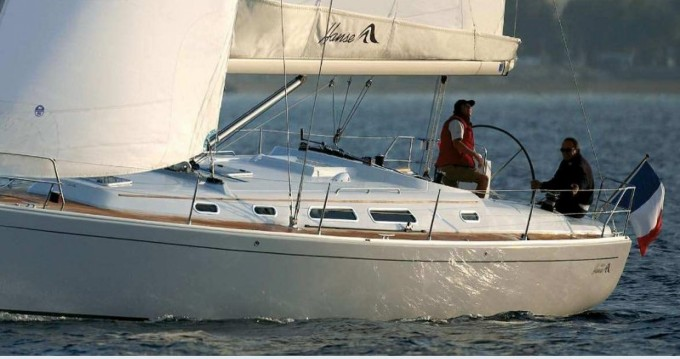 Alquiler de barcos Atenas barato de Hanse 400