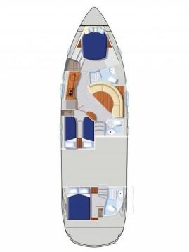 Alquiler de barcos Kaštela barato de Pershing 46
