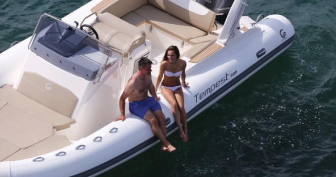 Alquiler de barcos Palma de Mallorca barato de Temepst 800 Open