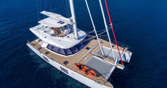 Alquiler de Catamarán, con o sin patrón Sunreef Tortola