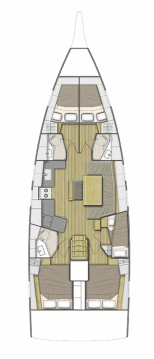 Alquiler de yate Atenas - Bénéteau Oceanis 46.1 en SamBoat