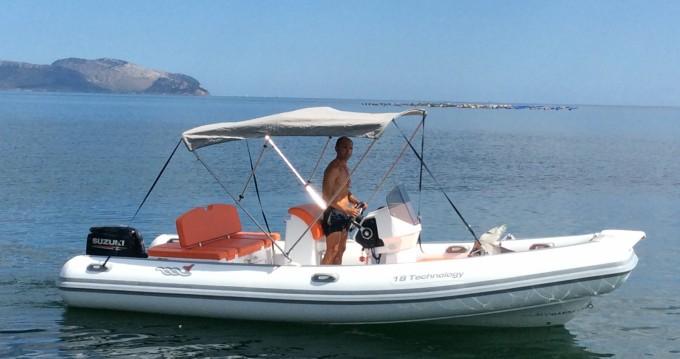 Alquiler de Motonautica-Vesuviana 18 technology en Lido del Sole