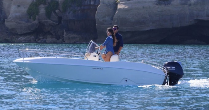 Alquiler Lancha en Tropea - Ta.ma.re Jaguar 5.50
