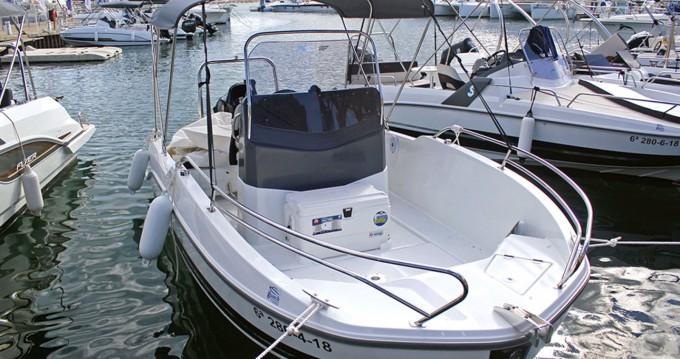 Alquiler de barcos Bénéteau Flyer 5.5 SPACEdeck enCambrils en Samboat