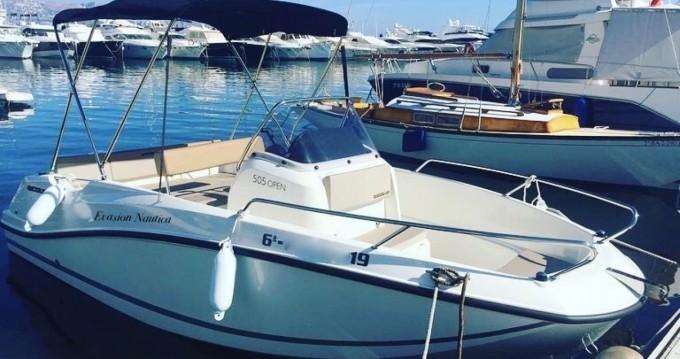 Alquiler de barcos Quicksilver open 505 enAltea en Samboat