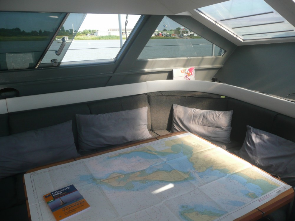 Alquiler Velero Gallart con título de navegación