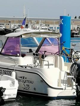 Ocqueteau Timonier entre particulares y profesional Port-La Nouvelle