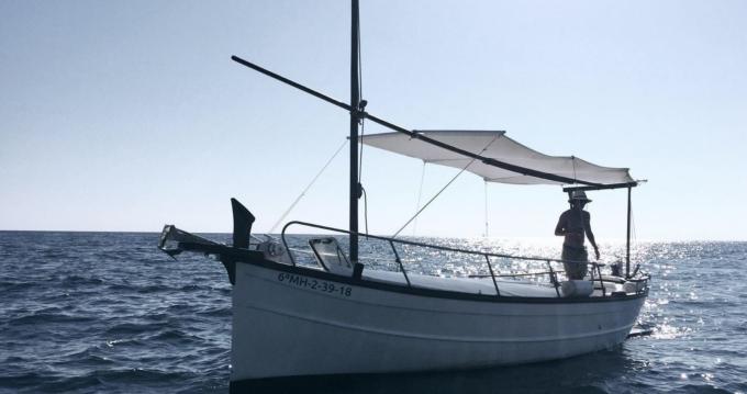 Alquiler Lancha Capeador con título de navegación