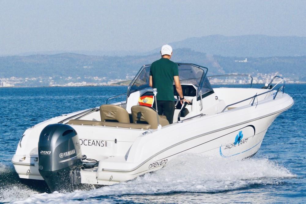Alquiler de barcos Palma barato de Pacific Craft 670 Open